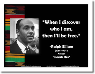 invisible man ralph ellison critical essays Ralph ellison this essay ralph social and critical essays, and she supported her husband financially while he wrote invisible man, and typed ellison's.